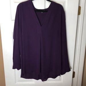 Purple Eloquii Blouse